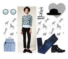 """Horses"" by sibaru ❤ liked on Polyvore featuring мода, ASOS, rag & bone, Vera Bradley и Kyme"