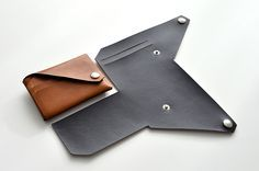 vidéo pour portefeuille cuir sans couture