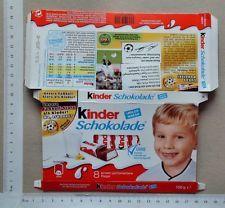Schokolade Papier Verpackung Etikett - chocolate wrapper Kinder