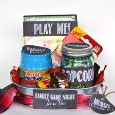 If your family loves family game night, others will too! Give the Gift of Family Game Night (with FREE Printables!) Use for Christmas or any time of year! Memorable Family Game Night Ideas and Tricks on Frugal Coupon Living.