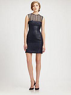Diane von Furstenberg - Kinchu Leaf Lace Dress $262.50