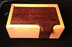 Wooden Keepsake box.o [The lid with incorporated lift makes this box]