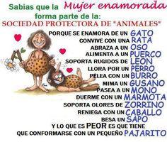 La Mujer enamorada forma parte de la Sociedad Protectora - ∞ Solo Imagenes, Frases, Fotos y Carteles de Amor ∞