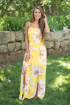 018ff89808c Golden Days Of Summer Maxi Dress - The Pink Lily Lässige Kleider