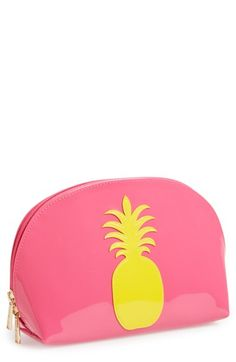 Free shipping and returns on Lolo 'Molly - Pineapple' Pouch at Nordstrom.com. Luaus, piña coladas, upside-down cakes—some of our very favorite things are all about celebrating the pineapple. Keep the tropical spirit alive with a pineapple-emblazoned pouch that's perfect for keeping essentials like toiletries and makeup tucked away neatly.