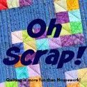 Quilting is more fun than Housework...: Oh Scrap! : The (not so) Dramatic Life Coin Pouche...
