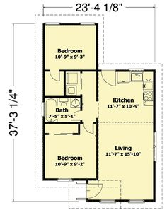 - 3560WK floor plan - Main Level