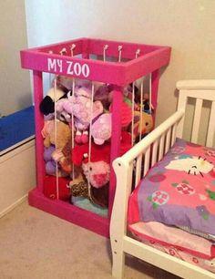 Stuffed Animal Zoo Keeper