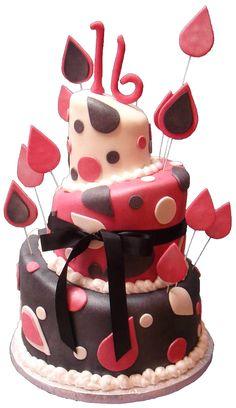 Sixteen year old cake