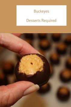 Desserts Required - Buckeyes