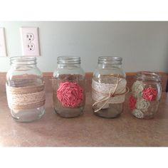 DIY mason jars