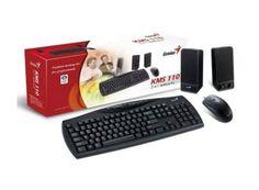 Kit tastatura + mouse + boxe Genius KMS-110 Kit, Electronics, Phone, Black, Telephone, Black People, Mobile Phones, Consumer Electronics