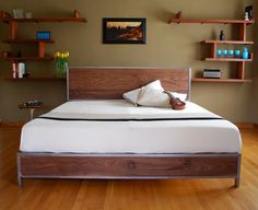 The Early Century Bed  King Size by deliafurniture