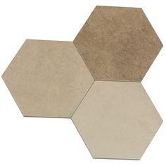 ATLAS Hexagon Multicolor Warm von Argenta Ceramica - eine faszinierende Mischung aus Moderne und Tradition, die gekonnt in Stein-Optik mit einem mediterranem Dekor zum Ausdruck gebracht wurde und wunderbar mit der ATLAS...