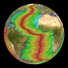 A study suggests that tectonic plates shrink. An expanding earth may also in time be a contracting or shrinking world. Sea Floor, Plate Tectonics, Astronomy, Physics, Plates, Printable Maps, Contours, Geography, Jesus Christ