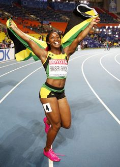 Shelly-Ann Fraser-Pryce, Track and Field, Jamaica!!!