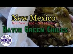 New Mexico Hatch Green Chile Time!