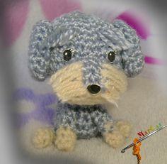 Amigurumi perro cruce, Crochet, Amigurumis, Juguetes, Amigurumis