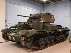 British Tank A9 Cruiser MK I