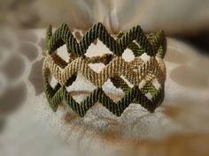 Chevron cuff bracelet black bordeux shimmer in zigzag Unique Bracelets, Macrame Bracelets, Greek Culture, Christmas Gifts For Her, Modern Jewelry, Zig Zag, Cactus Plants, Chevron, Presents