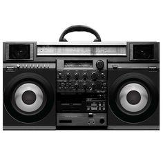 Bluetooth Retro-Style Boombox Speaker - Citi Trends Home - Front