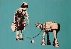 Star Wars pop art