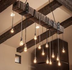 Love this look instead of an average chandelier