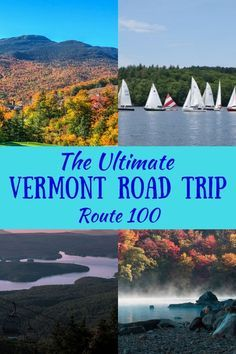 Road Tripping Vermont's Most Scenic Highway Planning a trip to Vermont this year? We've got a great Vermont road trip itinerary that runs 215 miles through the Green Mountains. Maine Road Trip, East Coast Road Trip, Us Road Trip, Road Trip Hacks, Voyage Usa, Road Trip Destinations, Honeymoon Destinations, New England Travel, Road Trip Essentials
