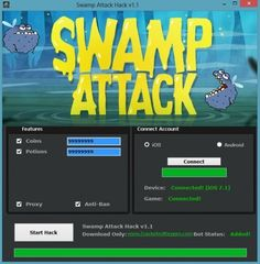 Swamp Attack Cheats Download