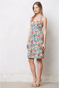 Garden Party Halter Dress | Anthropologie.eu