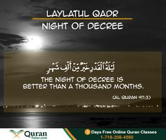 Blessings of Night of Qadar