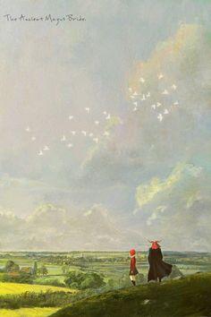 Chise Hatori & Elias Ainsworth - Mahou Tsukai no Yome Magus Bride Manga, Kore Yamazaki, Anime Manga, Anime Art, Elias Ainsworth, Chise Hatori, The Ancient Magus Bride, Animes Wallpapers, Anime Love