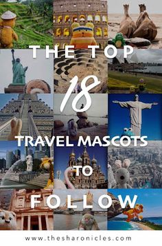 The top 18 travel mascots to follow Travel Toys, His Travel, Last Minute Travel, Travel Humor, Travel Channel, Vacation Packages, Future Travel, Travel Agency, Trip Planning