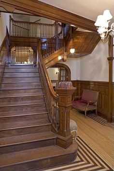 Stairway entrance Mary Tyler Moore House for sale