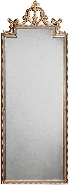 "Sku 76-11-4170 Dimensions 23""w 59""h Stock Level Currently unavailable - ETA is not currently available Mirror Antique mirror Frame Wood frame with hand carved f"