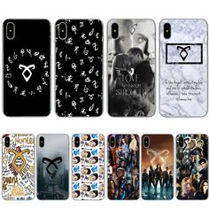 Mortal Instruments Quotes, Shadowhunters The Mortal Instruments, Cute Doodle Art, Cute Doodles, Shadowhunters Malec, Clace, Couple Jewelry, City Of Bones, Cute Phone Cases