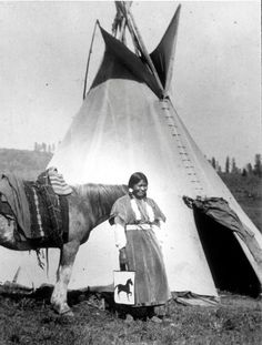 Nez Perce woman – 1919