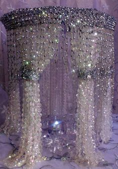 Sale Sale Sale Wedding Cake Stand with Crystals/Chandelier Cake Stand/ Wedding crystal cake stand. Cake stand Waterfall via Etsy Bling Wedding, Crystal Wedding, Trendy Wedding, Peacock Wedding, Wedding Cake Stands, Wedding Cake Toppers, Chandelier Cake Stand, Crystal Cake Stand, Crystal Centerpieces