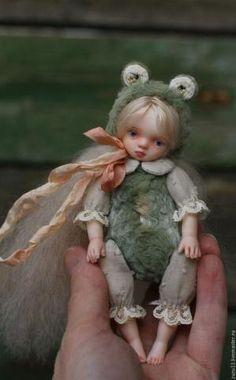 Teddy doll / Мишки Тедди ручной работы. Заказать Летне-детское.... Татьяна Тейкина. Ярмарка Мастеров. Теддидолл, вискоза by lela