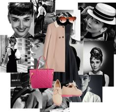 """""""Audrey hepburn"""" by maraia1green ❤ liked on Polyvore"""