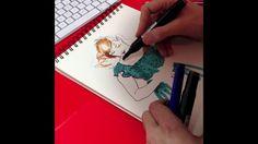 Raúl Allén empieza los días dibujando bocetos. Un buen despertar que comparte con todos en este vídeo.
