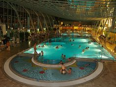 Meltingly relaxing thermal spa in Baden, Austria