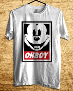 Ohboy mickey mouse T Shirt, Men T Shirt, Clothing, T Shirt, Shirt, All Color Available
