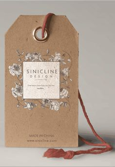 Sinicline new hang tag design for June. #hangtag