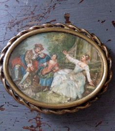 French broach  Fleaing France Brocante