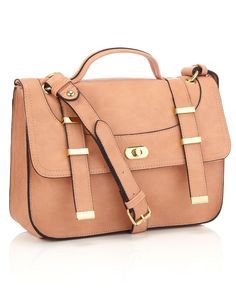 Hoxton Satchel by Accessorize in pink
