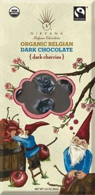 Organic Dark Bar with Dried Cherries