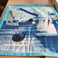 Another fidget quilt finished by antonia Quilt Baby, Lap Quilts, Quilt Blocks, Quilting Projects, Sewing Projects, Dementia Crafts, Sensory Blanket, Fidget Blankets, Adult Bibs