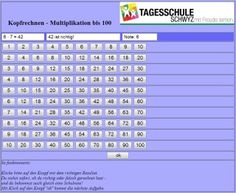 Lernen | Tagesschule Schwyz 9 And 10, Periodic Table, Mental Calculation, First Grade, School, Learning, Periotic Table