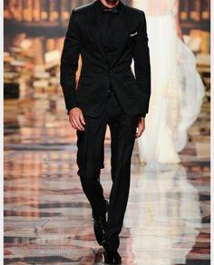 Casual Black Tuxedo